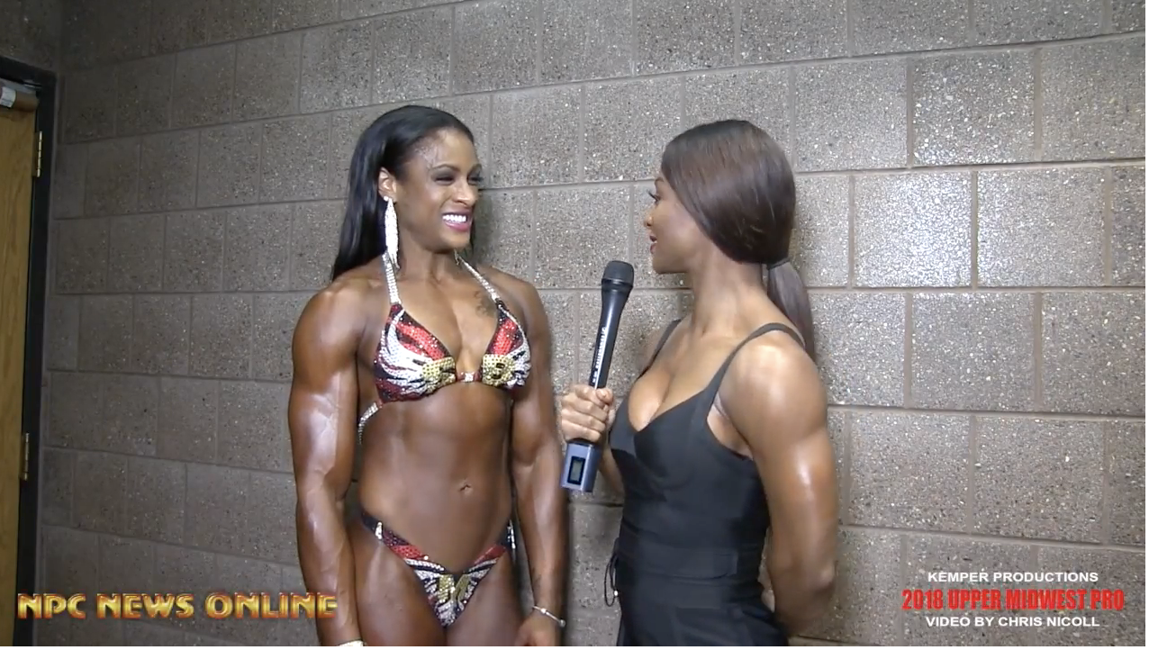 2018 IFBB Upper Midwest Pro Figure Competitor Amber Eutsey interviewed By Candice Lewis Carter