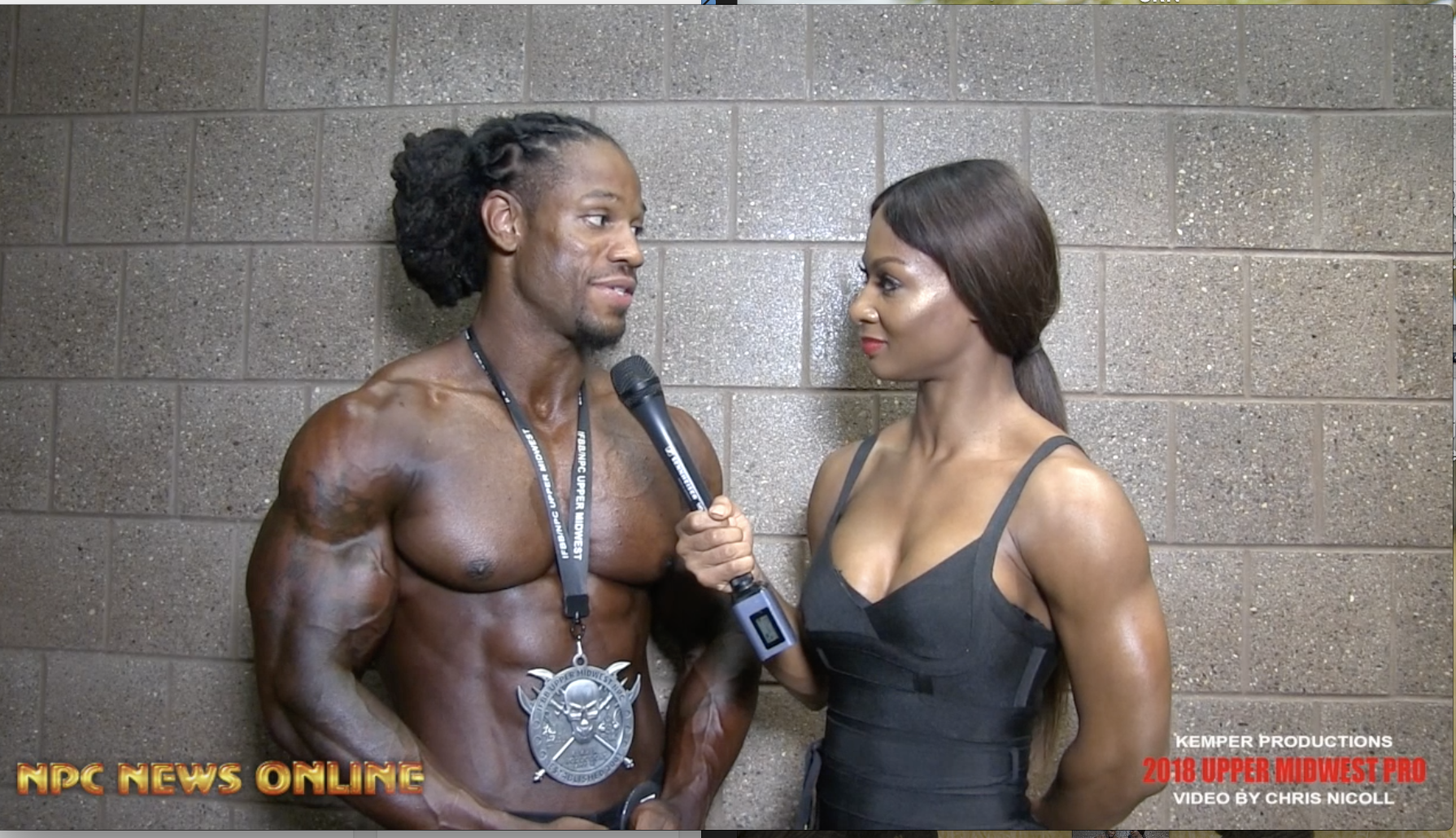 2018 IFBB Upper Midwest Pro Men's Classic Physique 2nd Place Winner Aaron Futel Interviewed By Candice Lewis Carter