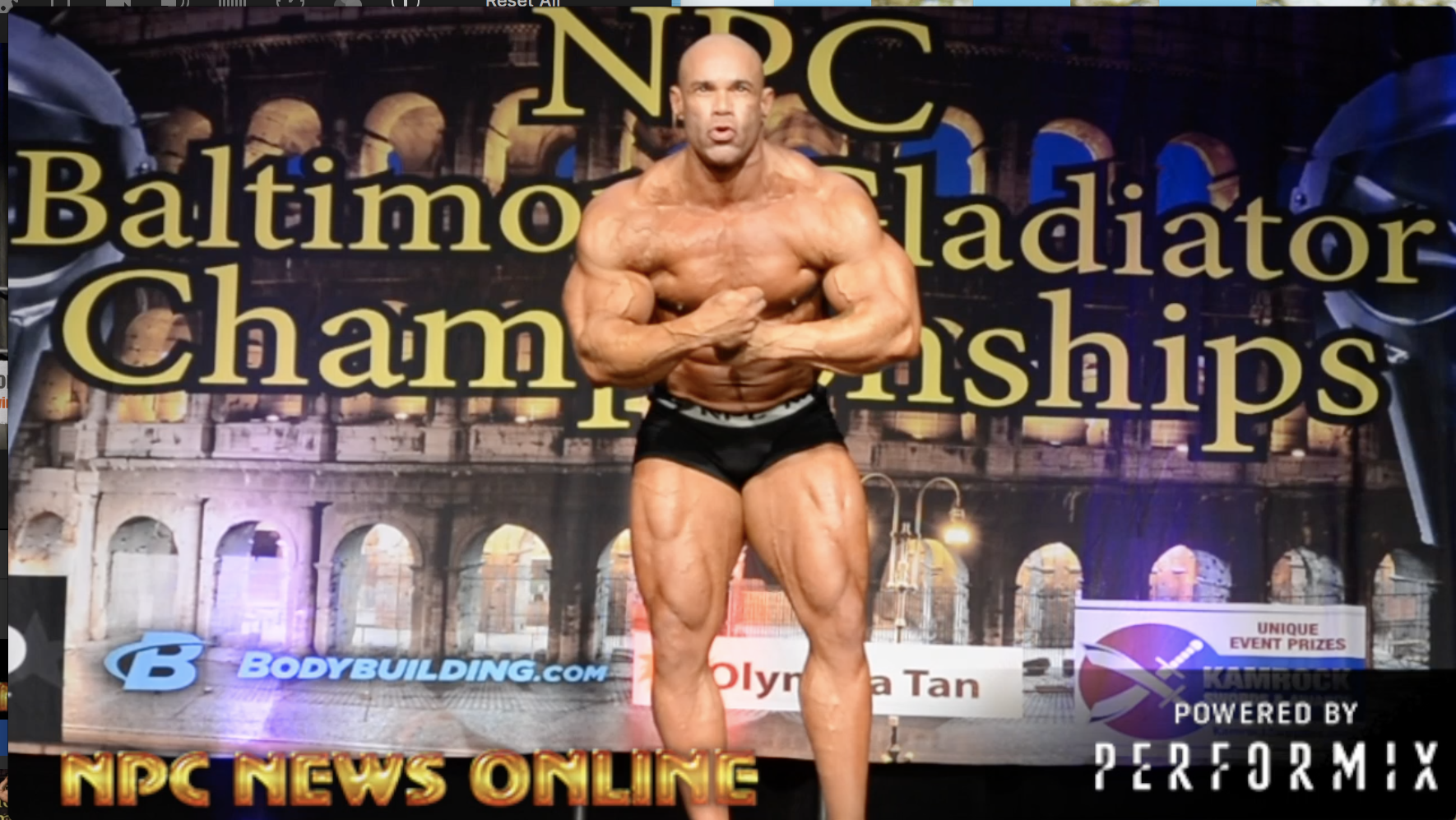 2018 NPC Baltimore Gladiator Championships Guest Poser: IFBB Bodybuilding Legend Kevin Levrone