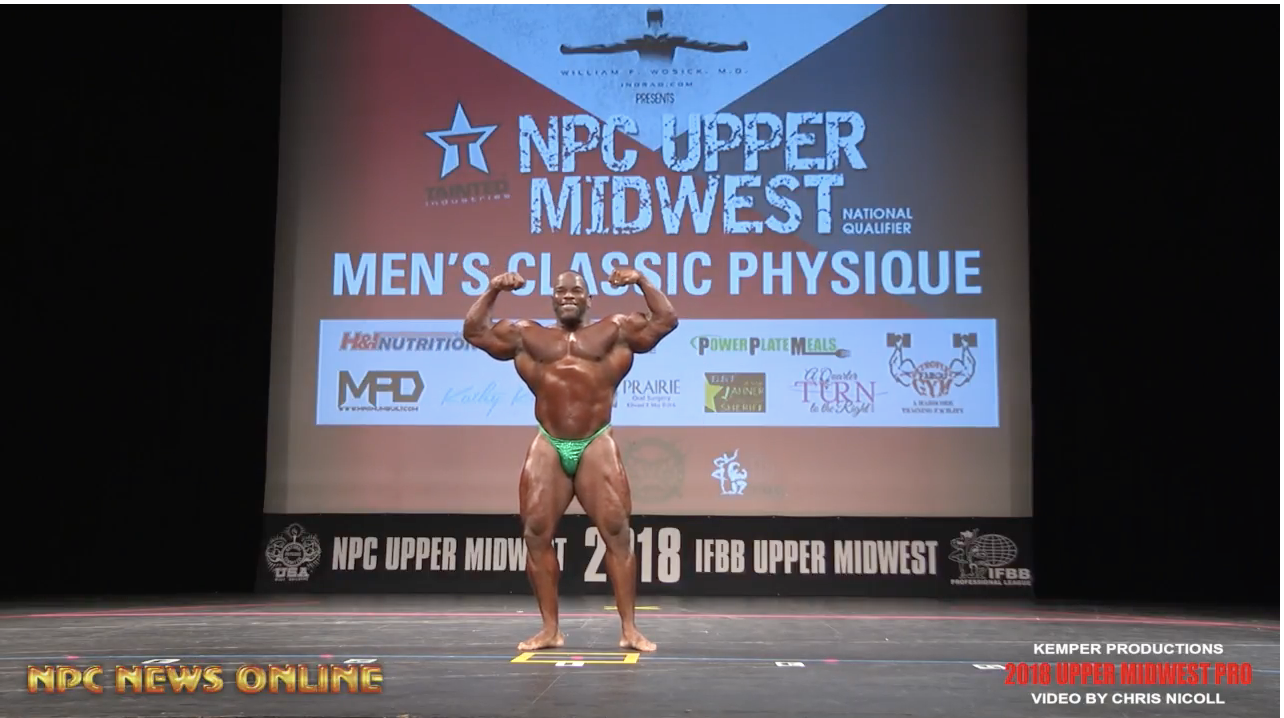 2018 NPC Upper Midwest Classic: Guest Poser Video, IFBB Pro Johnnie Jackson