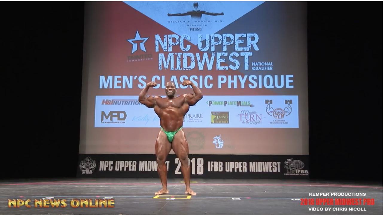 2018 NPC Upper Midwest Classic: Guest Poser Video, IFBB Pro Johnnie Jackson