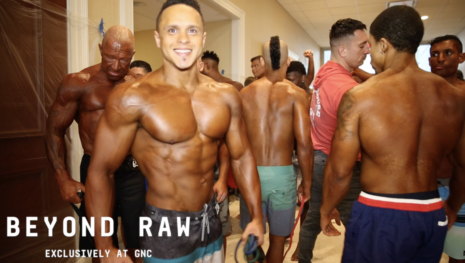 2018 NPC Steve Stone Metropolitan Championships Men's Physique Backstage Video