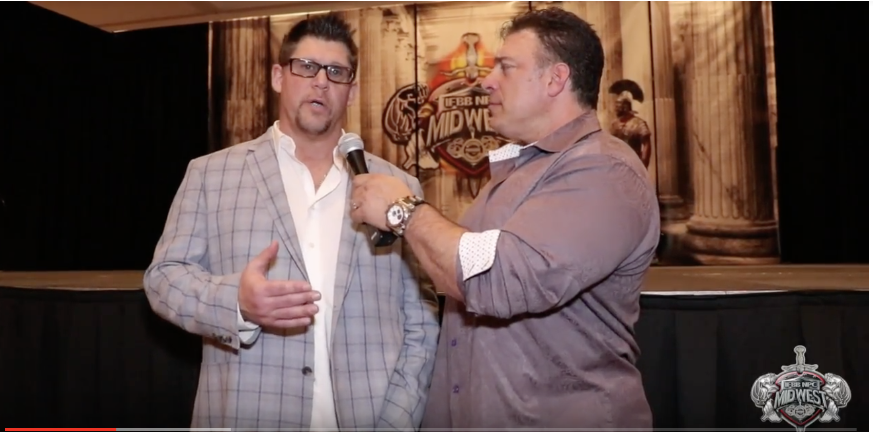2018 IFBB 1st Phorm St.Louis Pro: Jack Titone Interviewed By Bob Cicherillo.