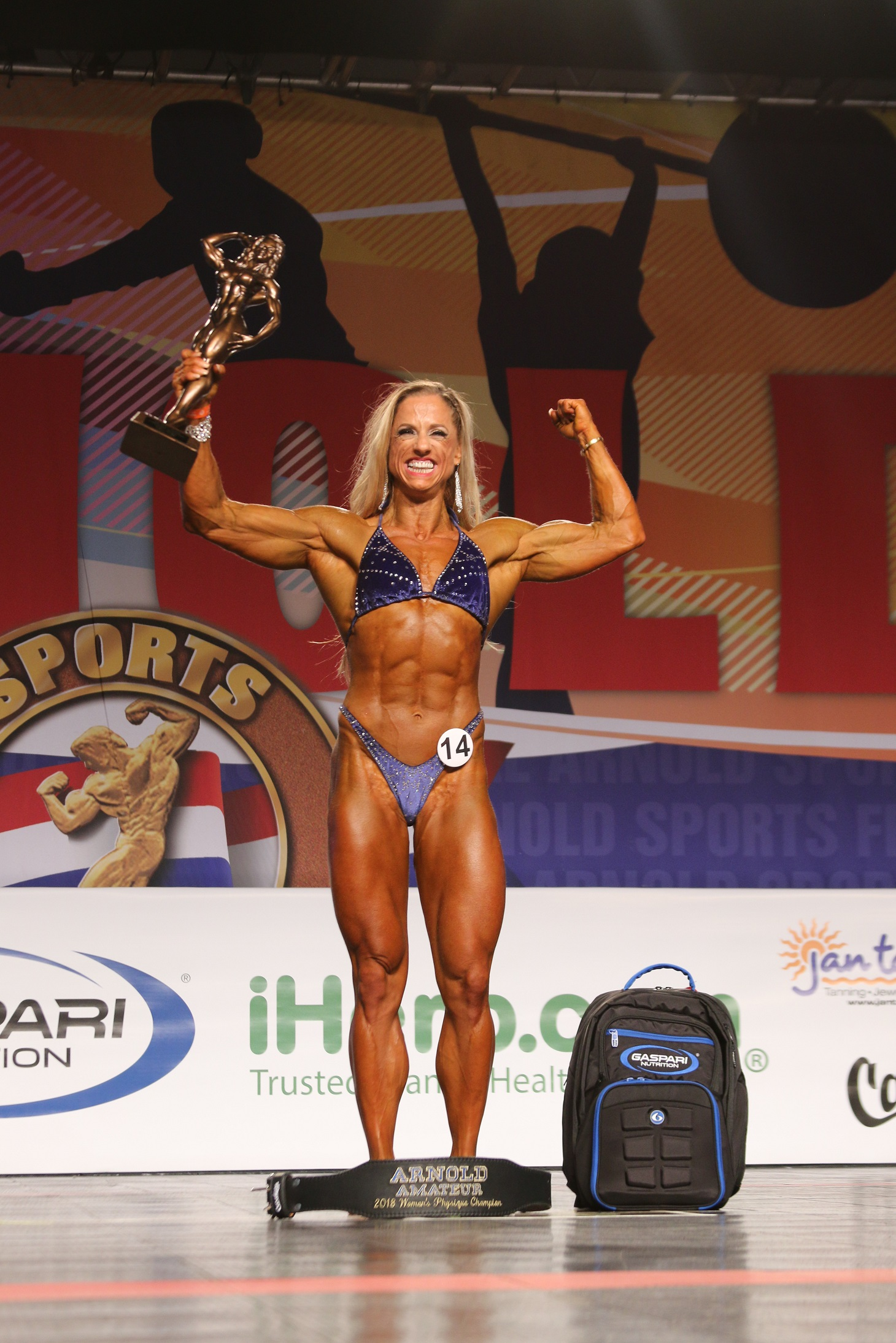 Has amateur arnold classic result