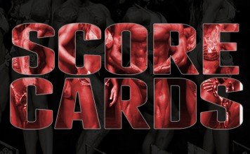 2018 Musclecontest Ireland Scorecard