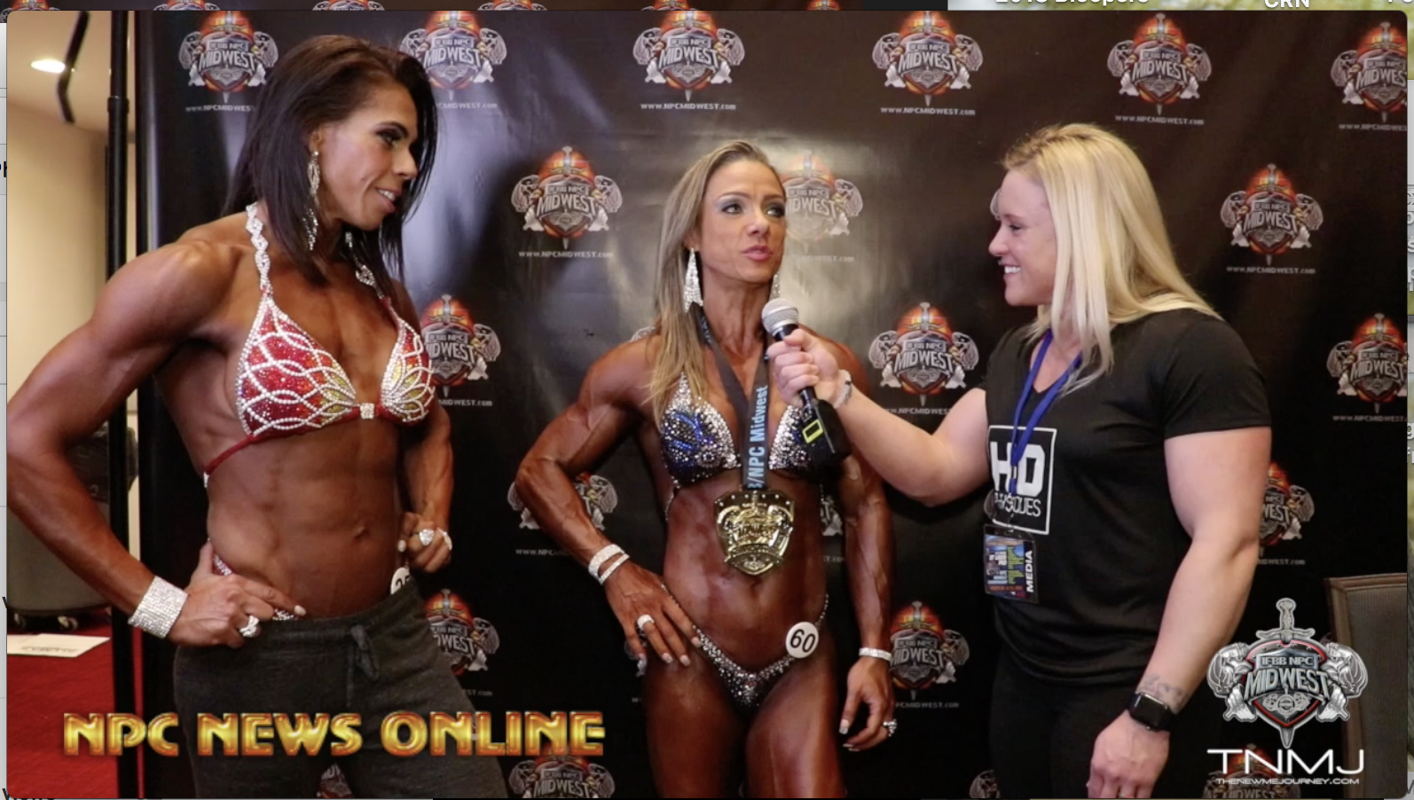 2018 IFBB 1st Phorm St.Louis Pro Women's Physique Winner Marjorie Beck