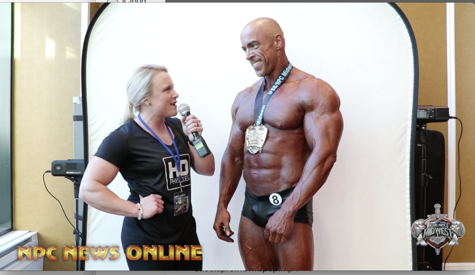 2018 IFBB 1st Phorm St.Louis Pro Masters Classic Physique Winner Aaron Sparenberg