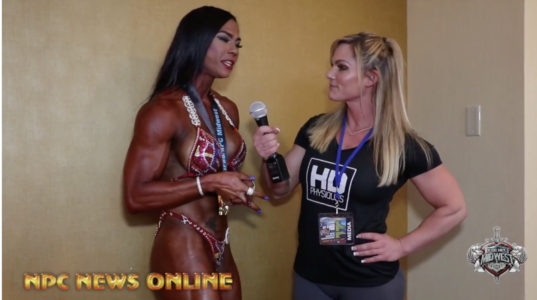 2018 IFBB St.Louis Pro Masters Women's Figure Winner Jessica Reyes Interview