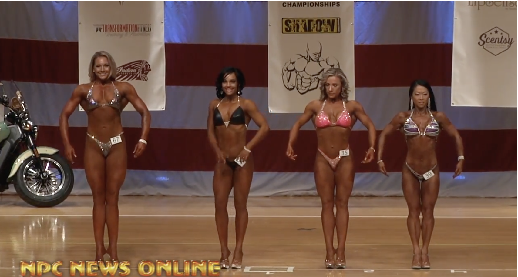 2018 NPC Vancouver USA Natural Figure Overall Video