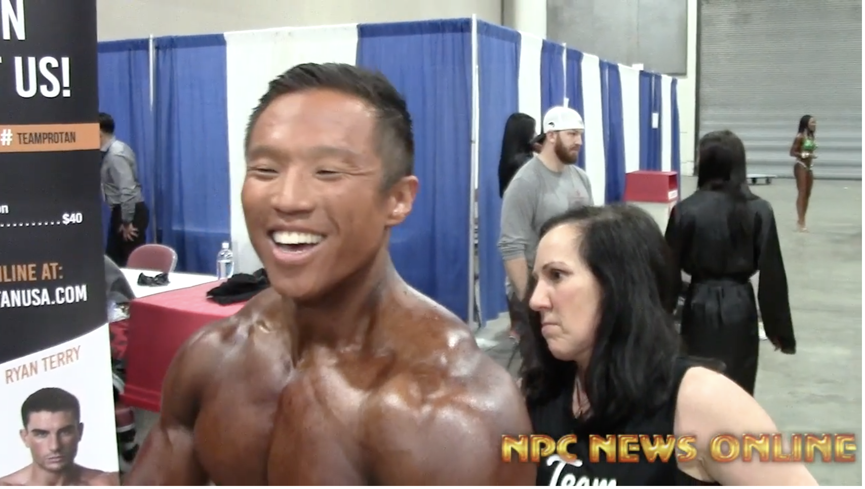 2018 IFBB Salt City Showdown Men's Physique Winner Joseph Lee Backstage Video