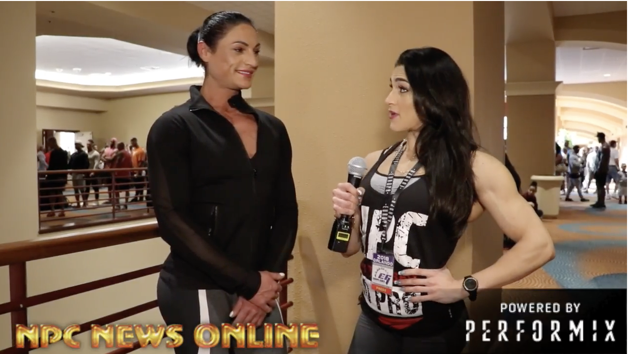 2018 IFBB Europa Orlando: IFBB Women's Physique  Pro Diana Schnaidt  Interview With IFBB Pro Natália Abraham Coelho.