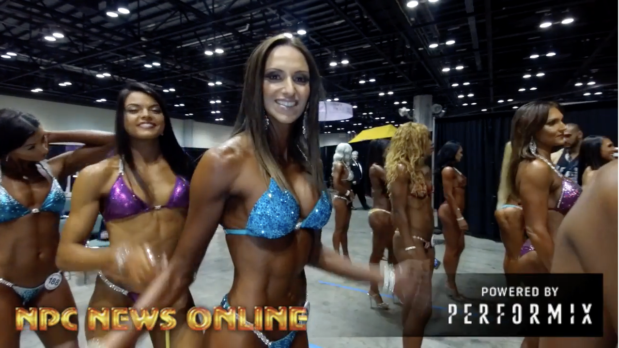 2018 NPC Europa Orlando Bikini Backstage Video