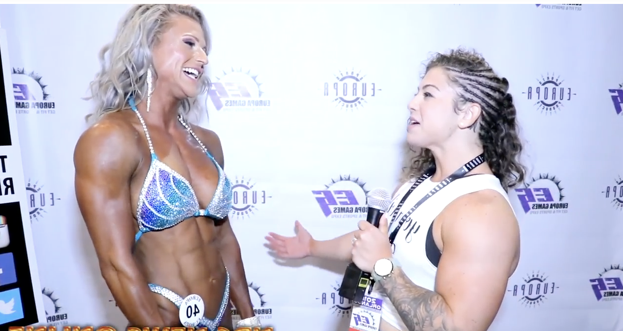 2018 Europa Orlando Women's Figure Winner  FELISHA LIVEZEY