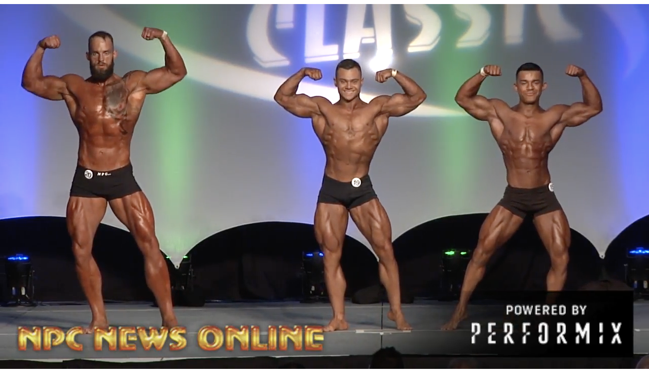 2018 NPC Empire Classic Men's Classic Physique Overall
