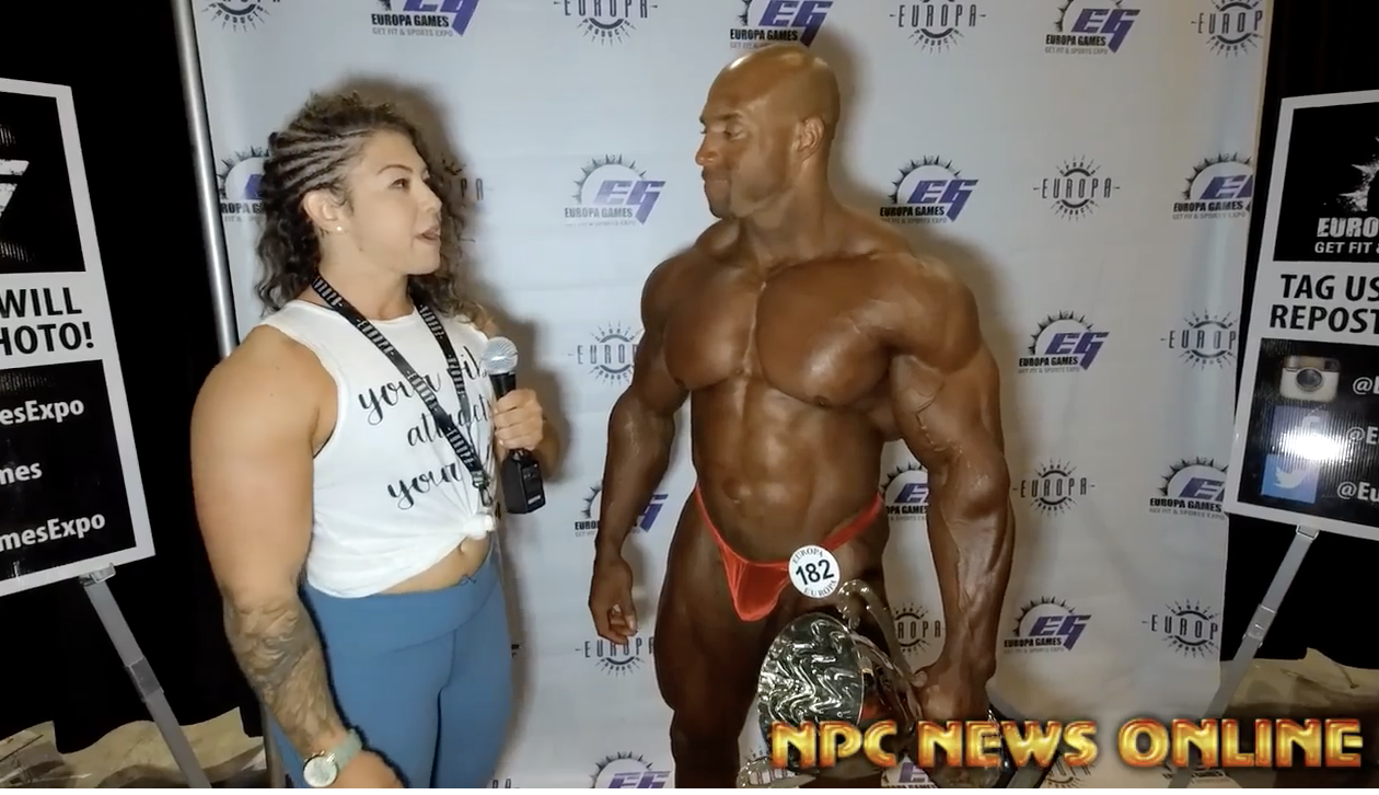 2018 NPC Europa Orlando David Fenty Overall Men's Bodybuilding Champion