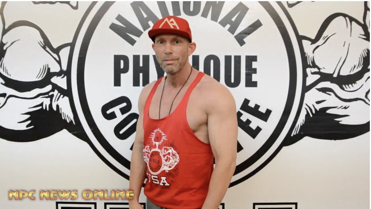 Road To The 2018 NPC Pittsburgh Championships: Masters Men's Physique Competitor John Rushford