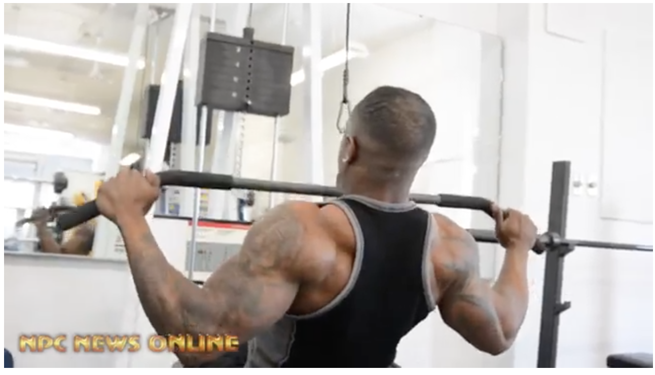 NPC Classic Physique Competitor Allen Horton Back & Biceps Workout In Prep For the 2018 NPC Pittsburgh Championships