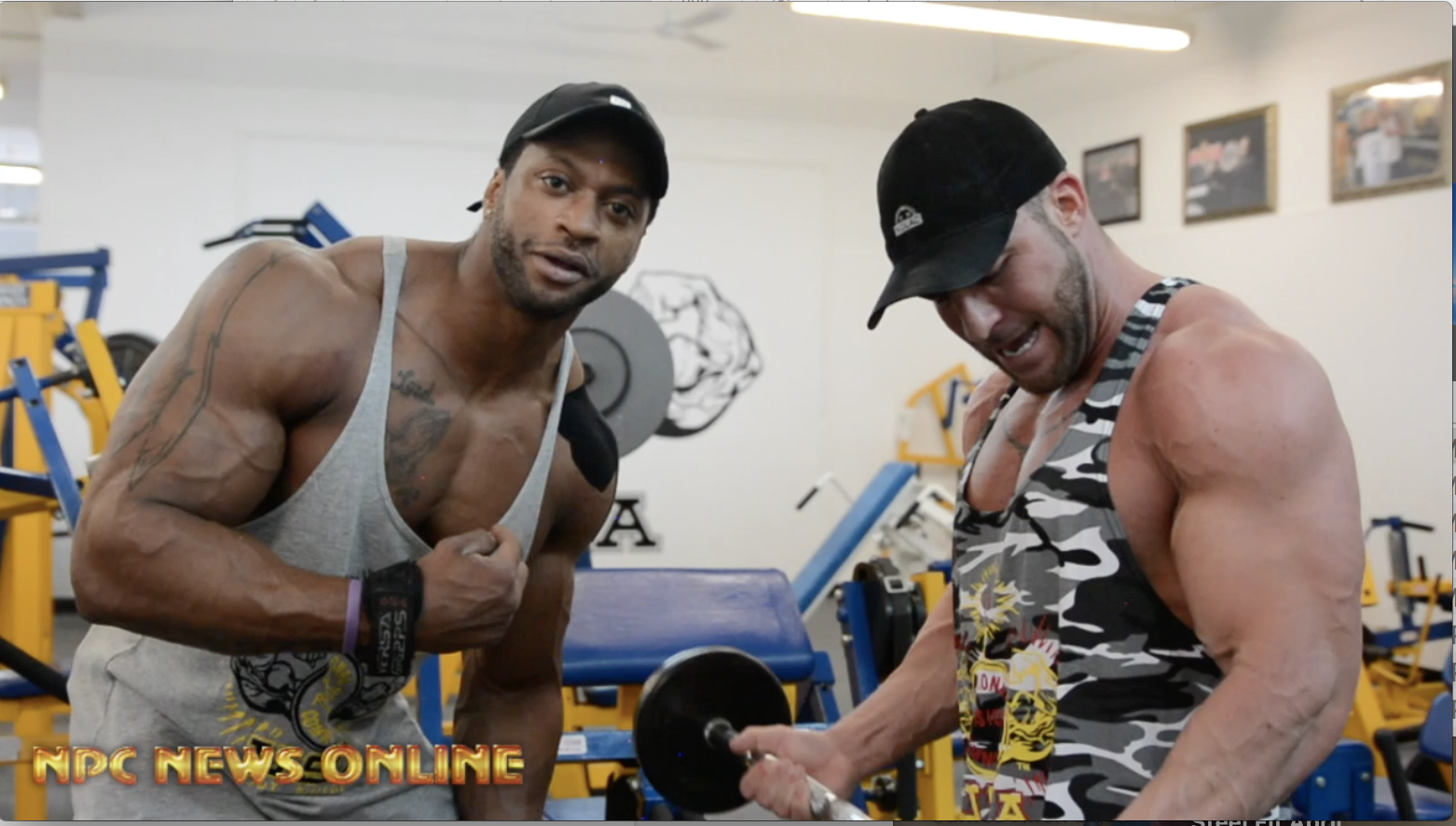 IFBB Pro Raymont Edmonds & NPC Competitor Aladino Dinardo Arms Workout In Prep For The 2018 NPC Pittsburgh Pro