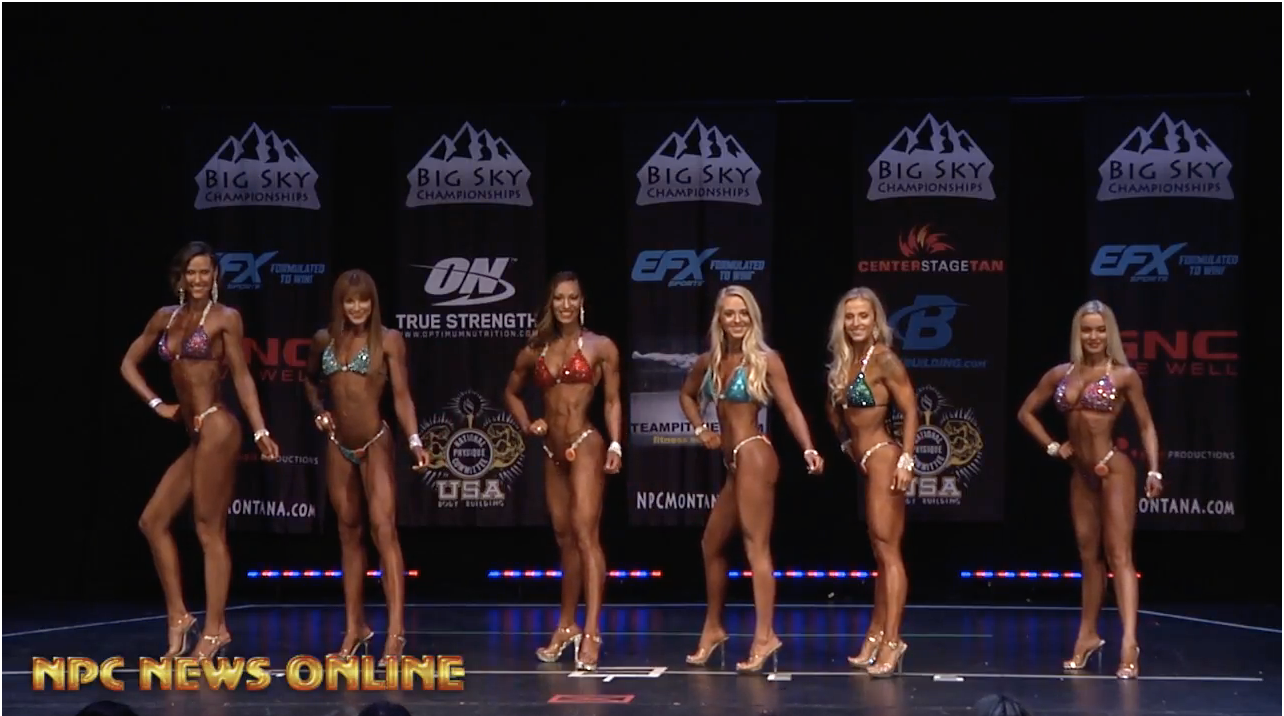 2018 NPC BIG SKY BIKINI OVERALL VIDEO