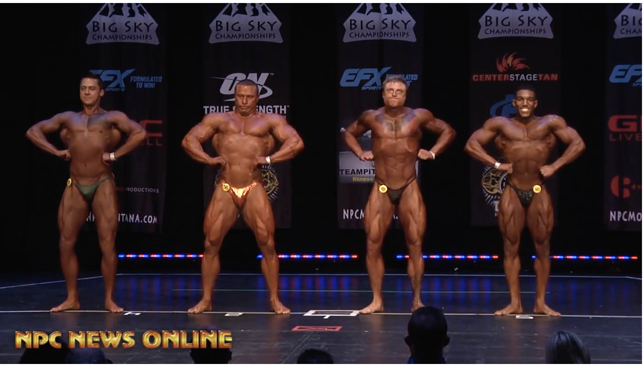 2018 NPC BIG SKY MEN'S BODYBUILDING OVERALL VIDEO