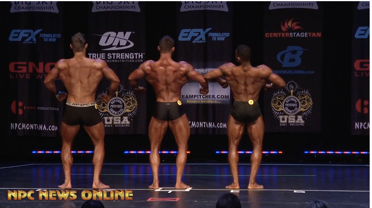 2018 NPC BIG SKY MEN'S CLASSIC PHYSIQUE OVERALL VIDEO