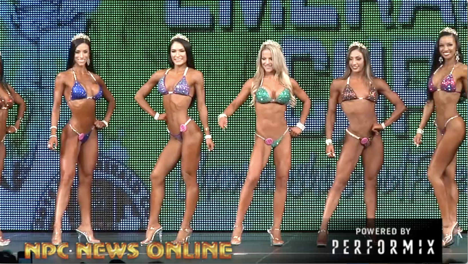 2018 NPC Emerald Cup Bikini Overall Video