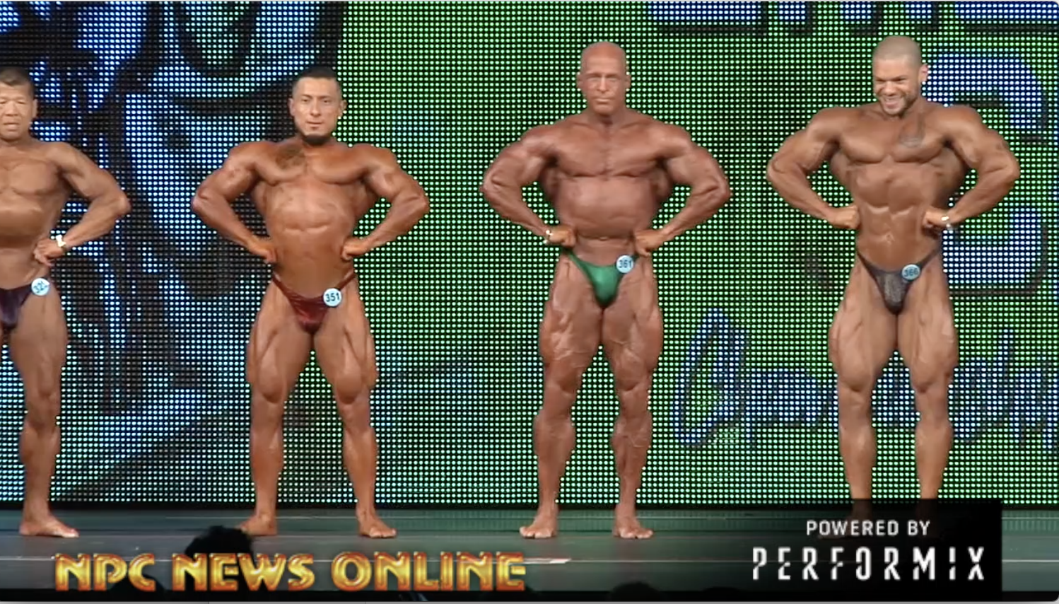 2018 NPC Emerald Cup Bodybuilding Overall Video