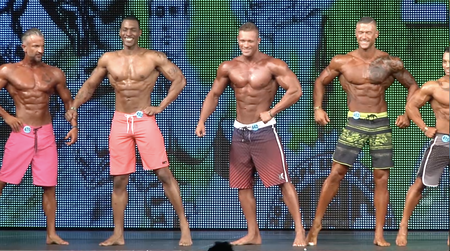 2018 NPC Emerald Cup Men's Physique Overall Video