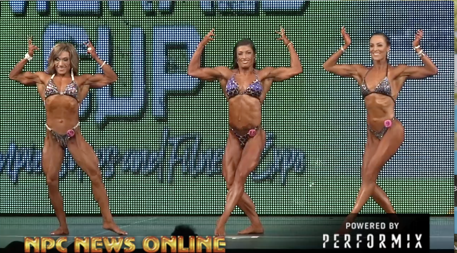 2018 NPC Emerald Cup Women's Physique Overall Video