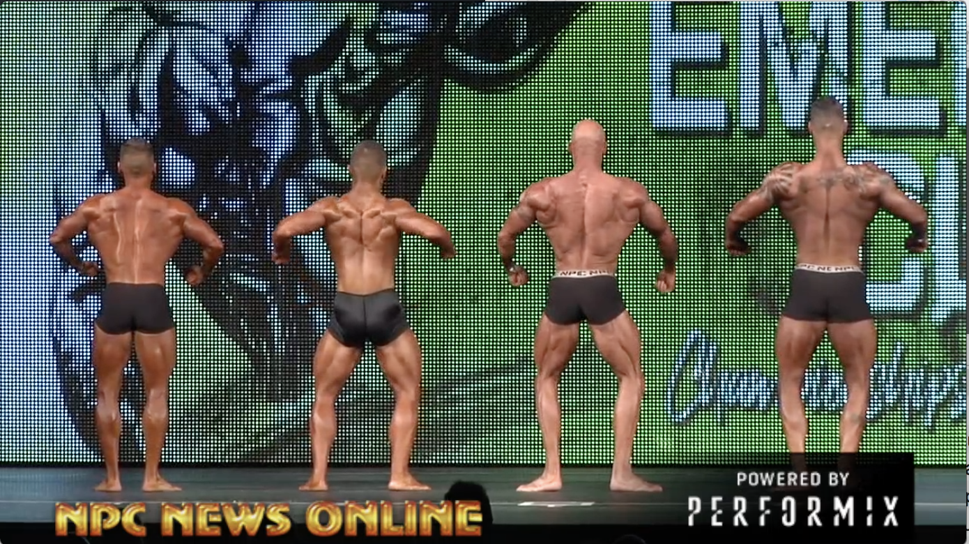 2018 NPC Emerald Cup Men's Classic Physique Overall Video