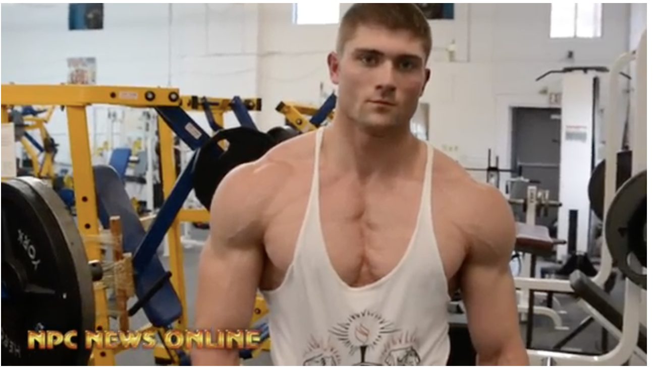 Road To The 2018 NPC Pittsburgh Championships: NPC Competitor David Brody Workout.