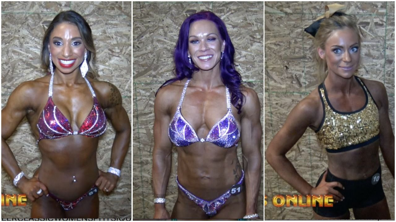 2018 NPC MOUNTAINEER CLASSIC WOMEN'S OVERALL INTERVIEWS: FITNESS, WOMEN'S PHYSIQUE, BIKINI, WOMEN'S FIGURE