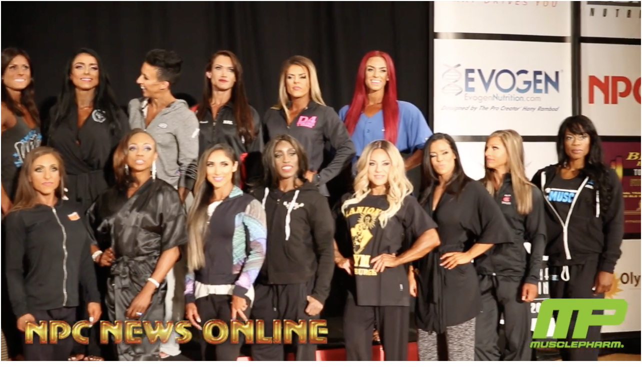 2018 IFBB Pittsburgh Pro Women's Figure Athlete's Meeting