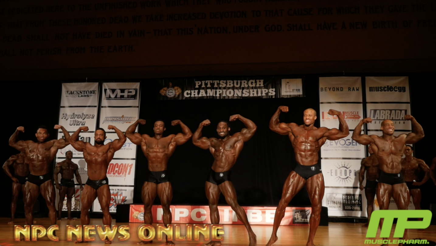 2018 IFBB Pittsburgh Pro Men's Classic Physique Prejudging Video