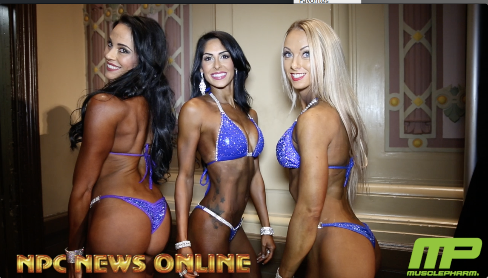 2018 NPC Pittsburgh Championships Bikini Backstage Video