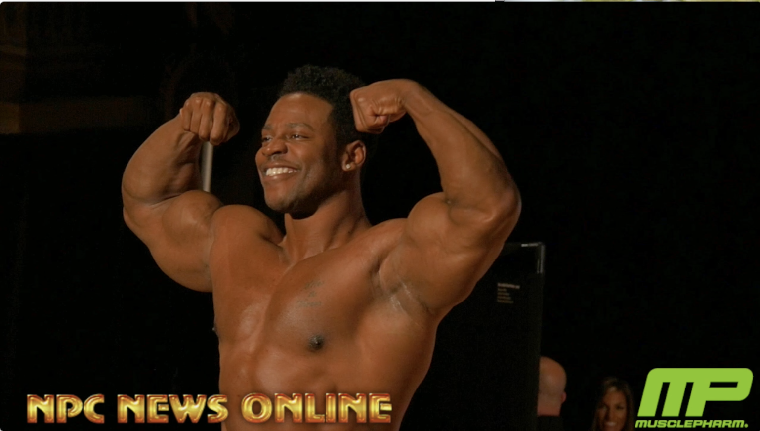 2018 IFBB Pittsburgh Pro Men's Classic Olympia Champ Breon Ansley Guest Posing Video