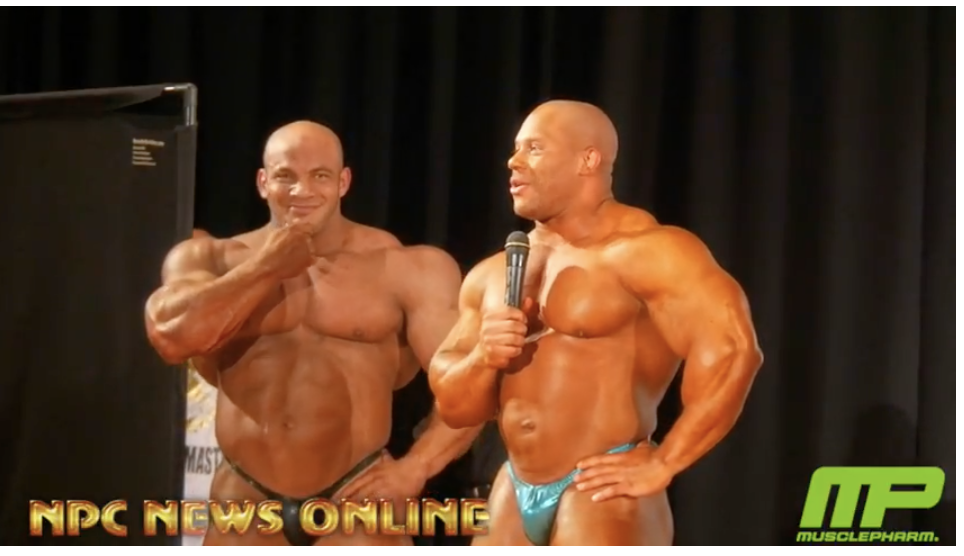 2018 IFBB Pittsburgh Pro Guest Posers On Stage Interview With Bob Cicherillo.