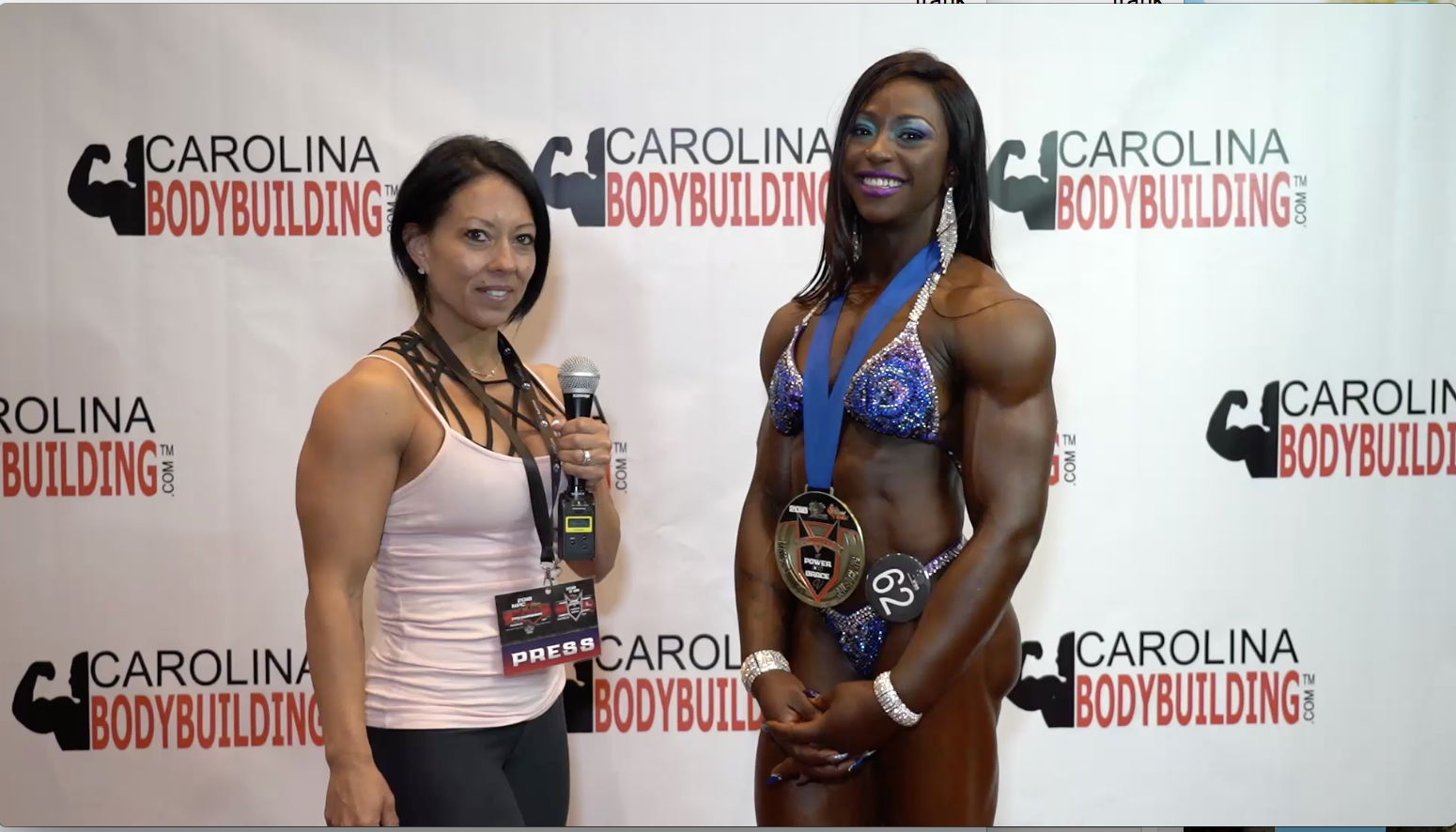 2018 IFBB CHAMPIONS OF POWER AND GRACE WOMEN'S PHYSIQUE WINNER SHERONICA HENTON