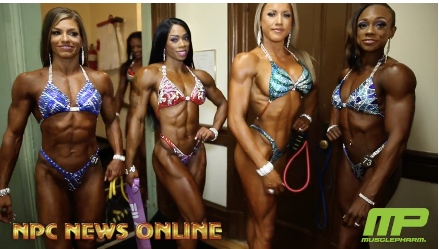2018 IFBB Pittsburgh Pro Women's Figure Backstage Video