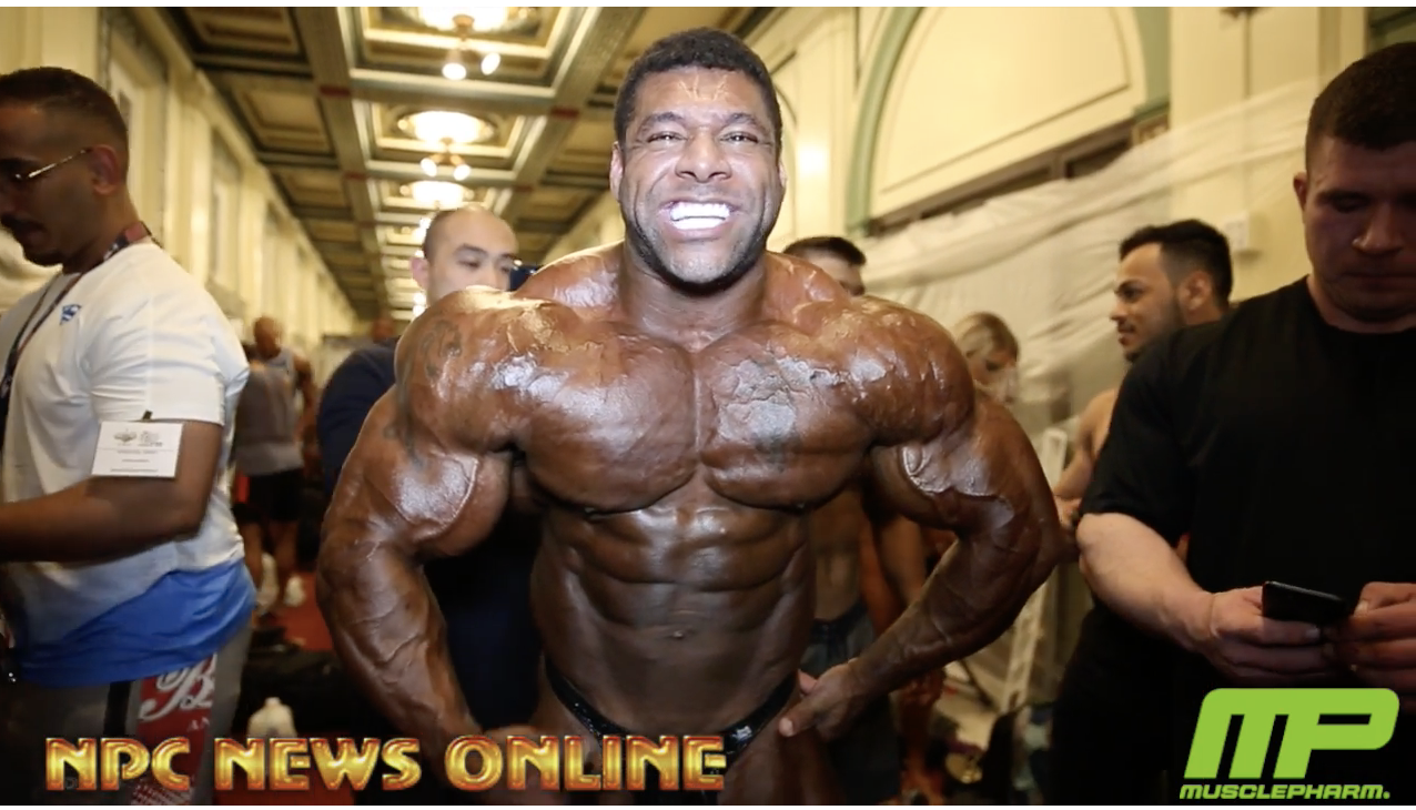 2018 IFBB Pittsburgh Pro Guest Posers Pump Up Backstage Video