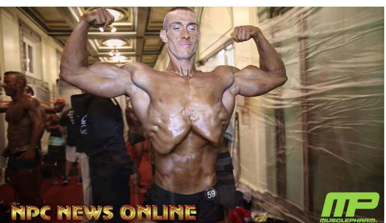 2018 NPC Pittsburgh Championships Mens Physique & Classic Physique Backstage Video