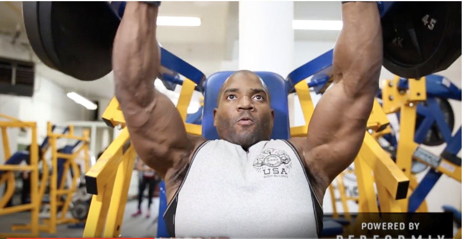 IFBB Men's Physique Competitor Xavisus Gayden Day Before Contest Workout Video