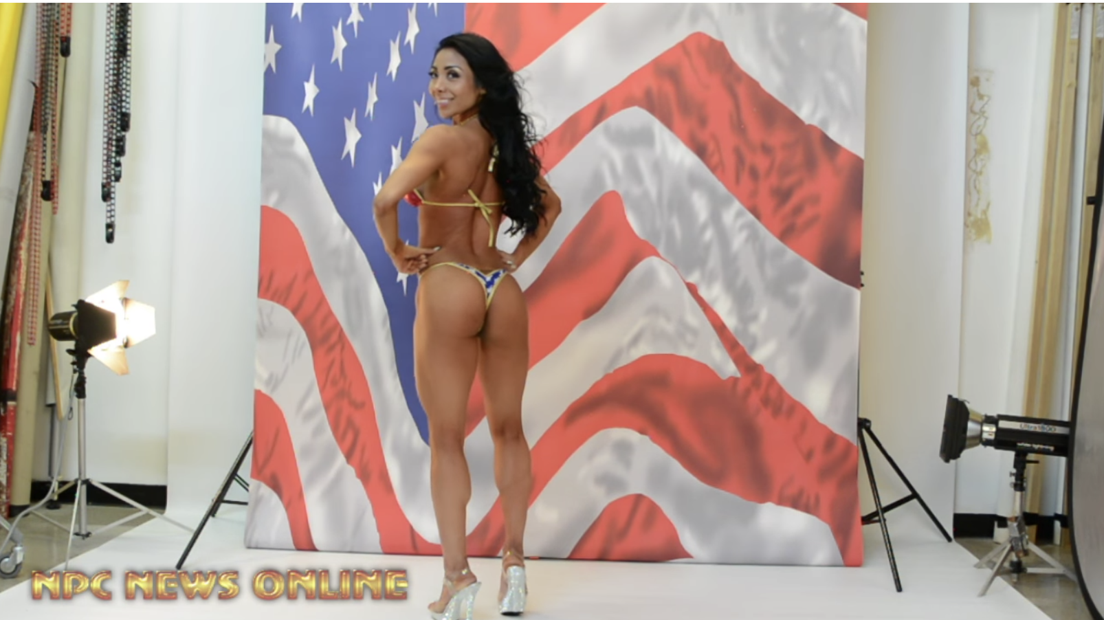 IFBB Bikini Competitor Eli Fernadez Behind The Scenes Photo Shoot With J.M. Manion in Pittsburgh, PA (VIDEO)