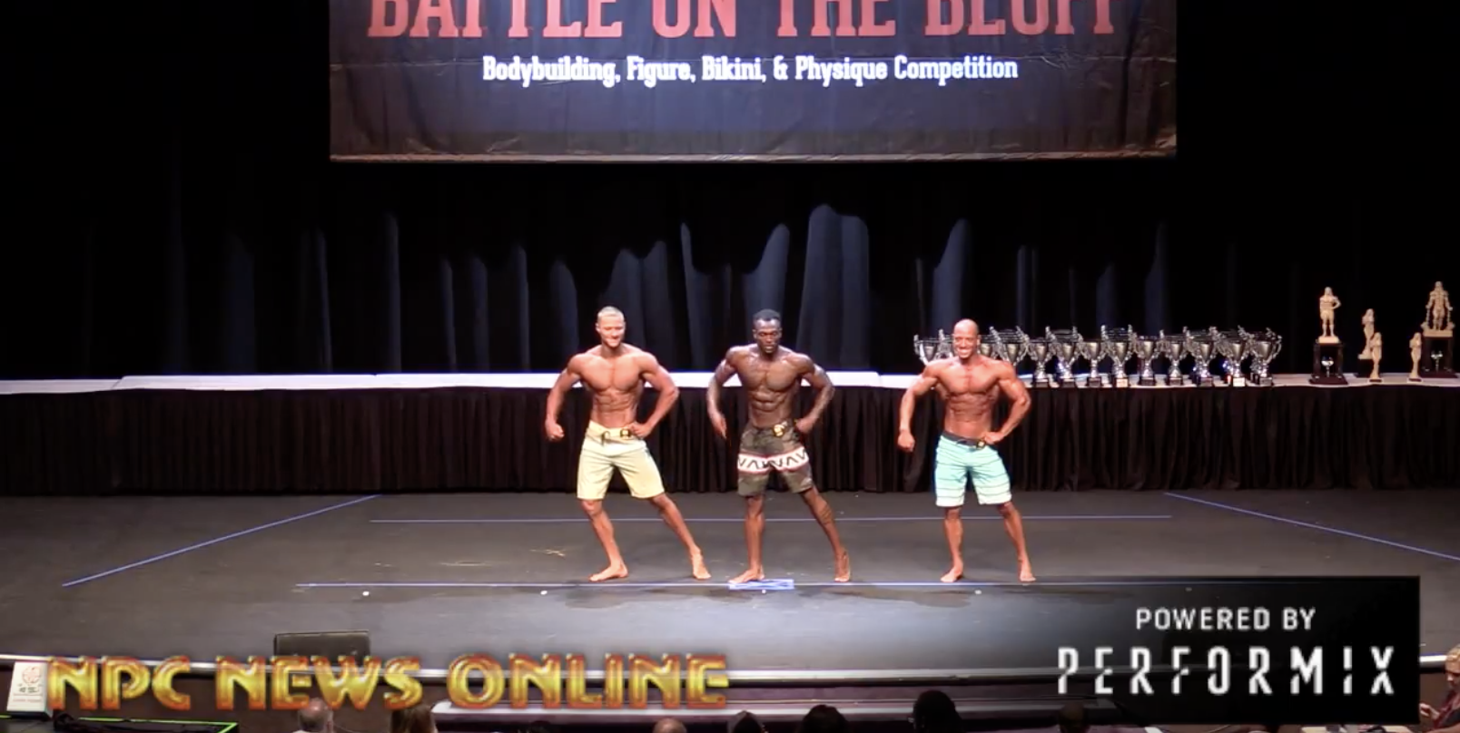 2018 NPC Battle On The Bluff Men's Physique Overall Video