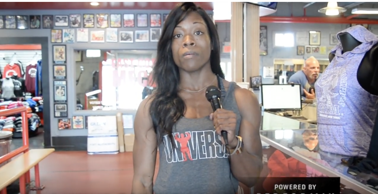 IFBB Figure Pro/Universal Nutrition Athlete. Kendyl Seawright 2 Days Out From the 2018 IFBB NY Pro