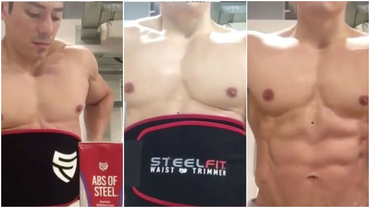 Want a Smaller, Tighter Waist? Just follow these 4 Steps with SteelFit® Customer @dpinto01!