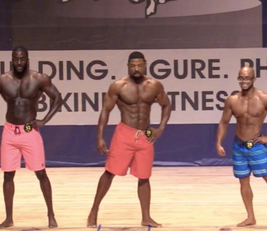 Men physique fitness