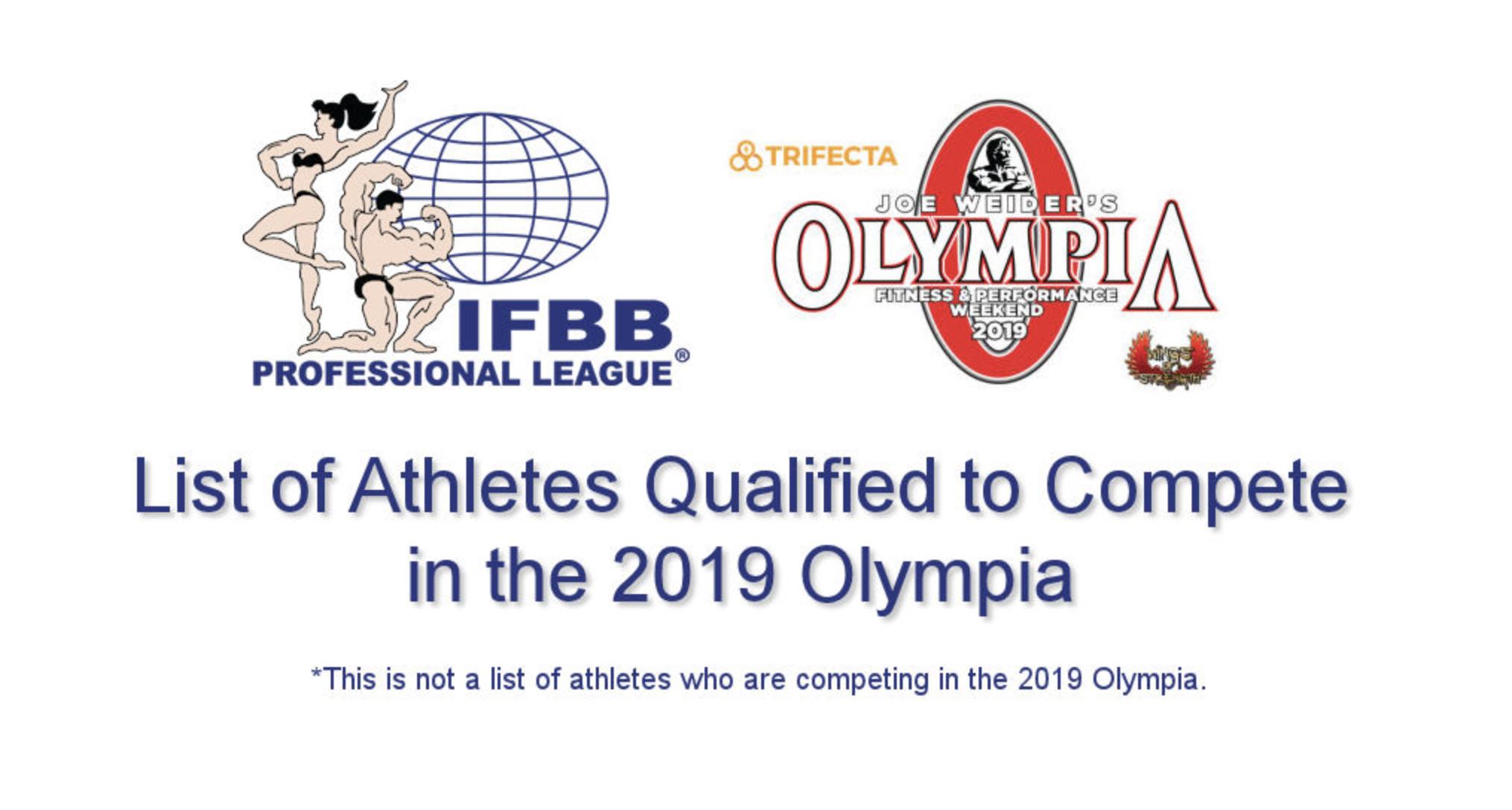 Olympia Weekend 2019!! Bh