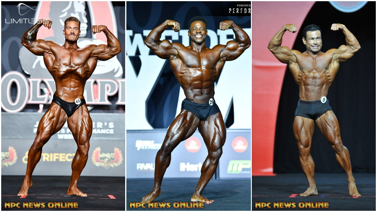 Mr Olympia Classic Physique Champions Photo Gallery Chris Bumstead Breon Ansley Danny Hester Npc News Online