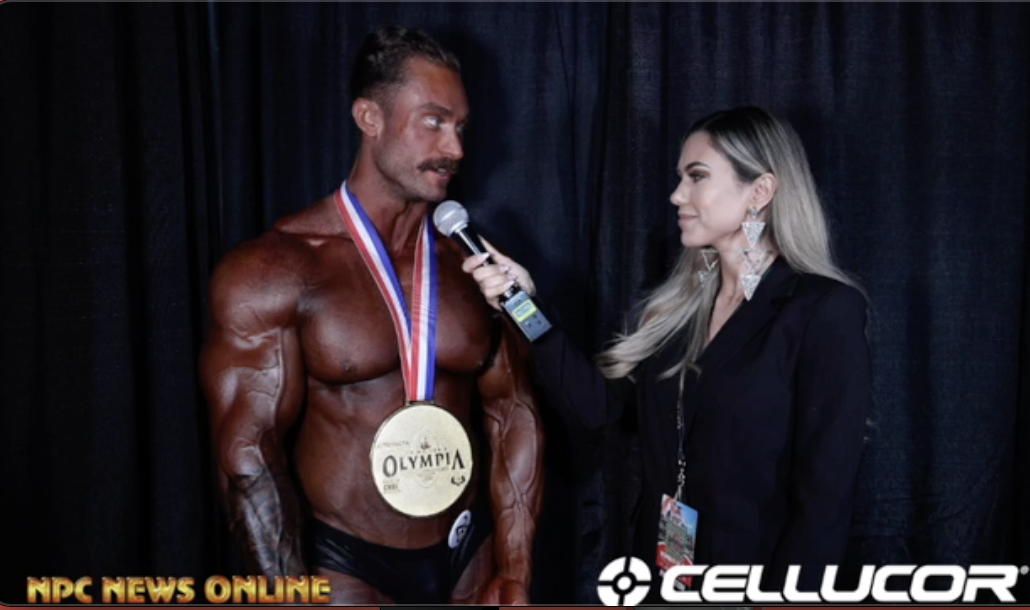 2020 Olympia Classic Physique Winner Chris Bumstead Interviewed By Raphaela Milagres Npc News Online